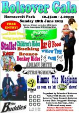 Make sure you keep Sunday 26th June free for Bolsover Gala